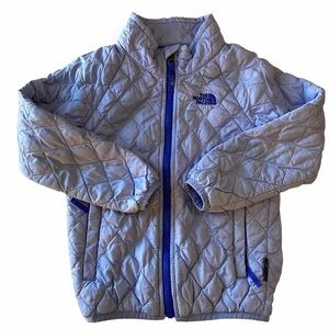 The North Face Quilted Zippered Lightweight Jacket